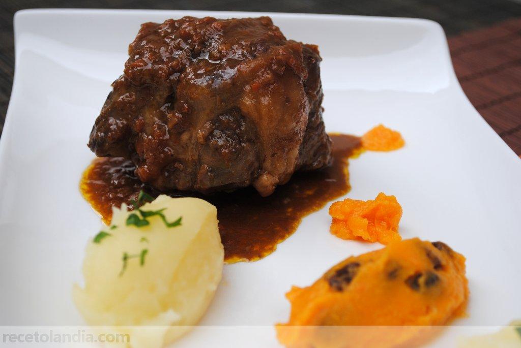 Receta de rabo de ternera recetolandia - Cocinar rabo de ternera ...