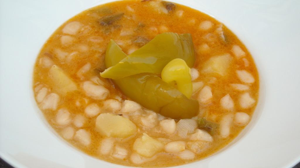 Receta de alubias viudas recetolandia - Como preparar las judias verdes ...