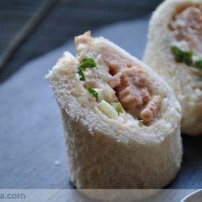 Sandwich distinto de bonito