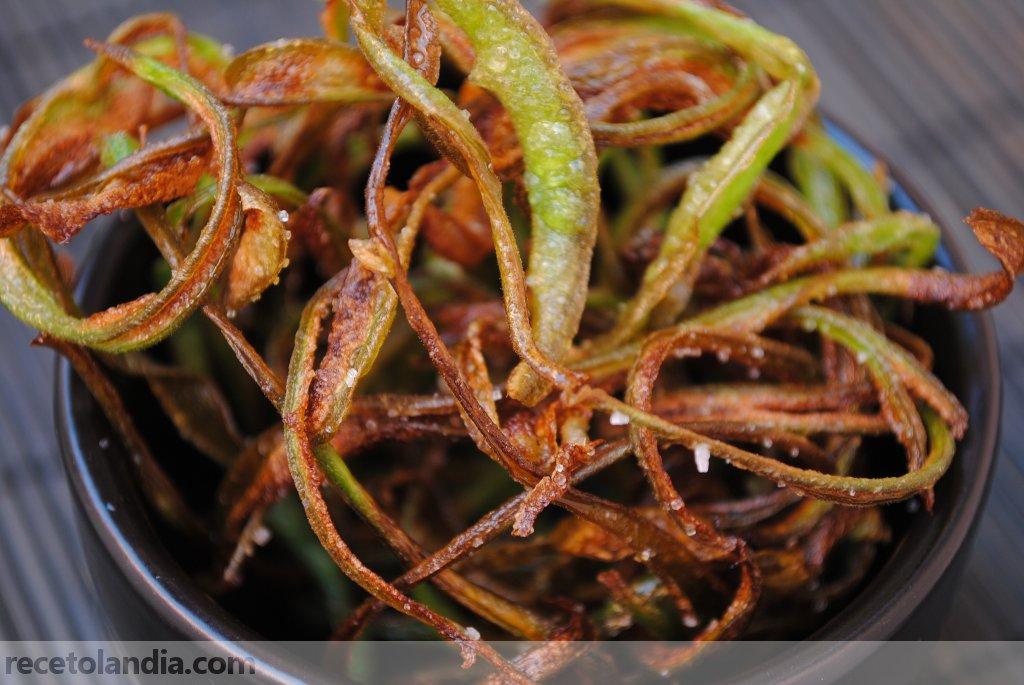 Receta de crujiente de jud as verdes recetolandia - Tiempo coccion judias verdes ...