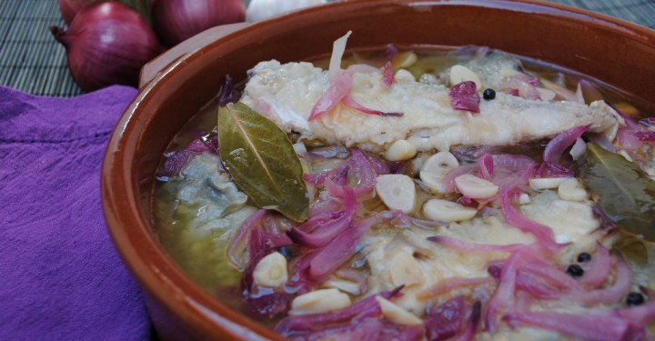 Chicharros en escabeche