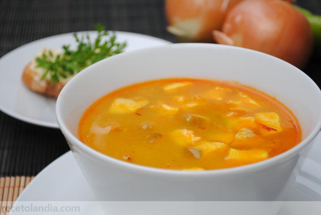 Receta de sopa de marisco recetolandia - Sopa de marisco y pescado ...
